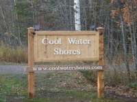 Cool Water Shores Sign
